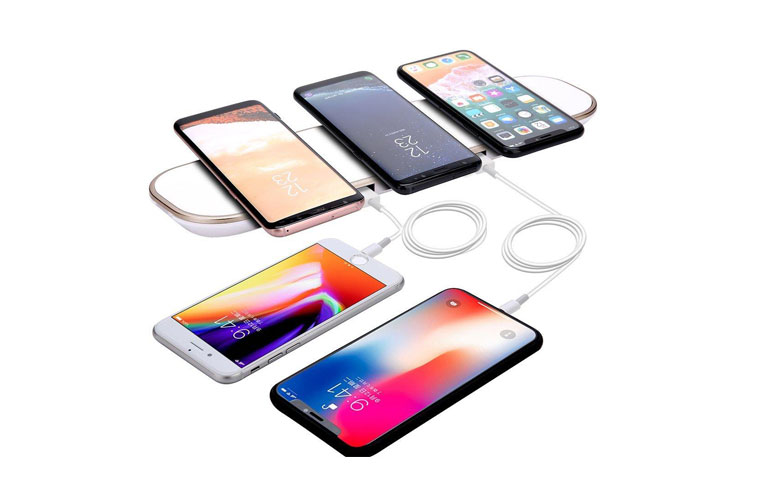 3in1 Wireless fast charger for iphone&samsung