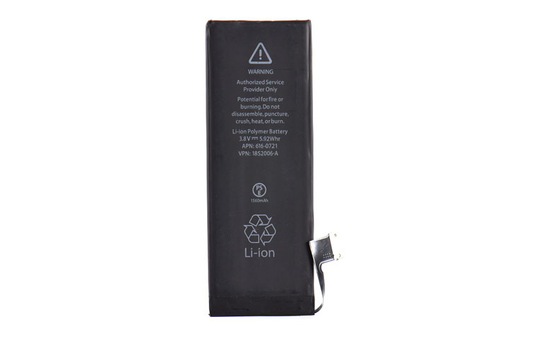1560mAh 3.8v Li-ion Internal Battery Replacement for iPhone 5S 5C Mobile Phone Built-in Lithium Battery For iPhone 5C/5S devices