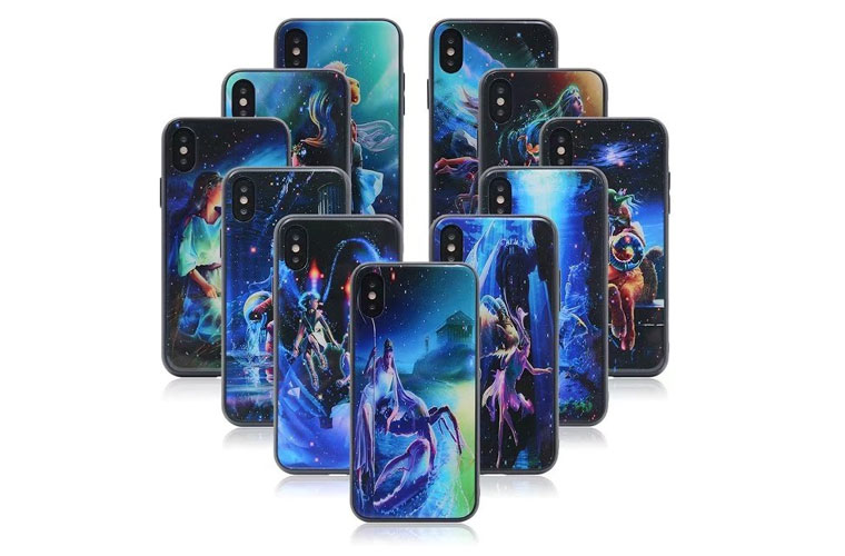 For iphoneX 3D glass case