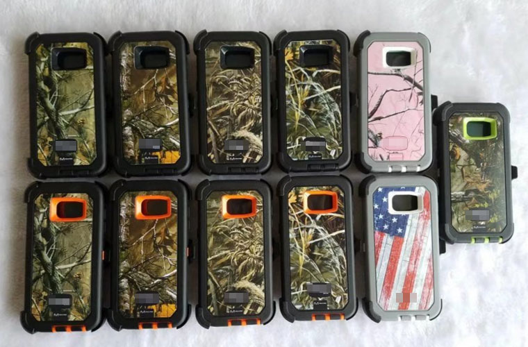 Ott box Camouflage case for samsung galaxy S7 edge