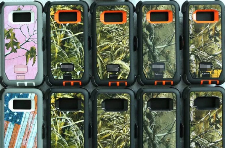 Ott box Camouflage case for samsung galaxy S8&S8plus